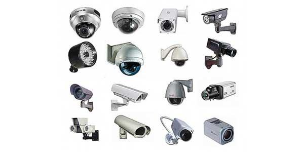 انواع دوربین مدار بسته از نظر رنگ