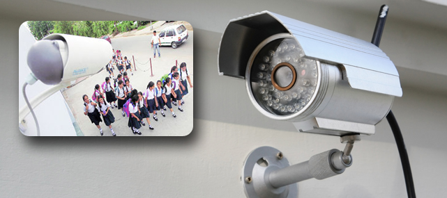 نصب دوربین مداربسته در مدارس