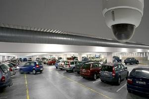 نصب دوربین مدار بسته در پارکینگ