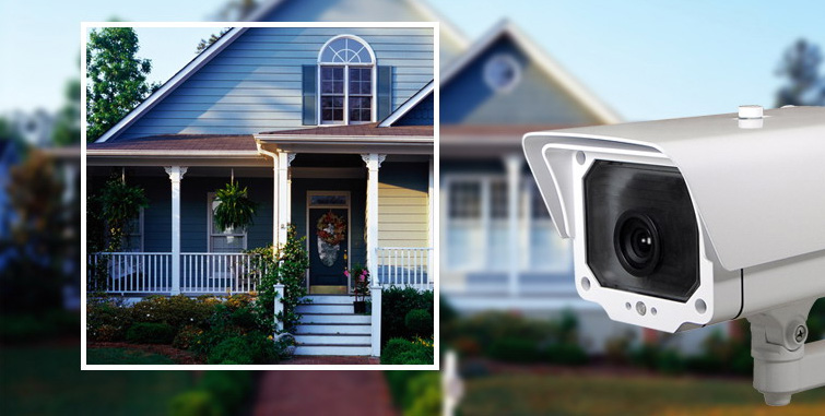 دوربین مداربسته برای حیاط